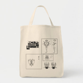 Space objects tote bag