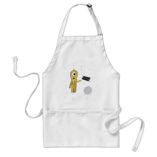 space octopus adult apron