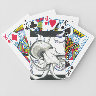 Space Octopus Deck of Playing Cards