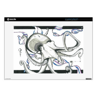 Space Octopus Laptop Skin