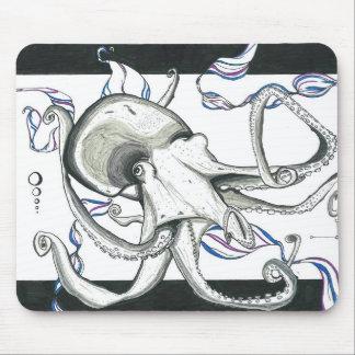 Space Octopus Mousepad Mousepads