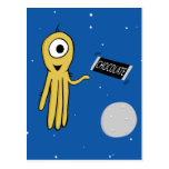 space octopus postcard