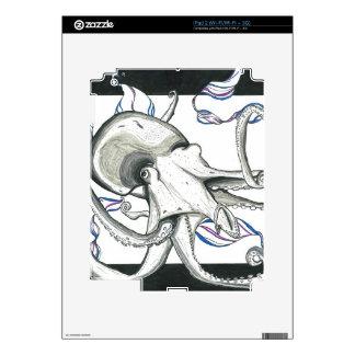 Space Octopus Skin E-Reader iPad 2 Skin