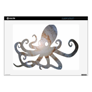 """Space octopus skins for 15"""" laptops"""