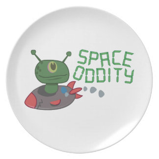 Space Oddity Plate