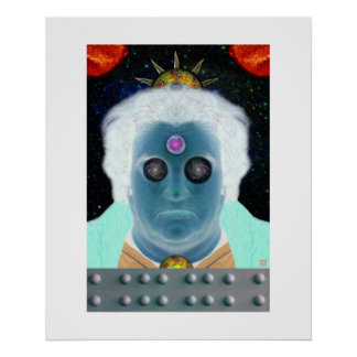 Space Oddity-Print Poster
