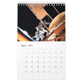 Space Odyssey Calendar