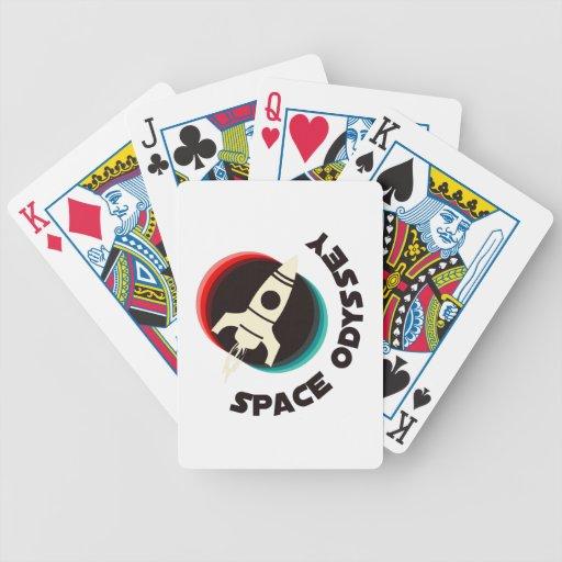 Space Odyssey Poker Cards