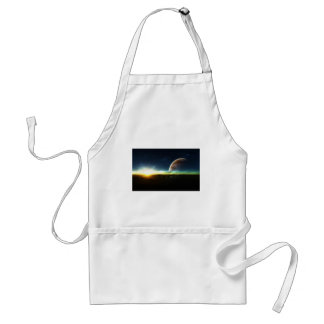 Space on the Horizon Adult Apron