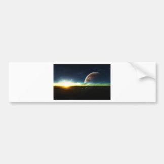 Space on the Horizon Bumper Sticker