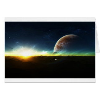 Space on the Horizon Card