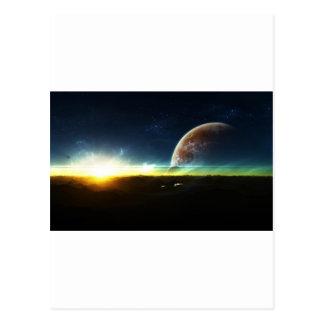 Space on the Horizon Postcard