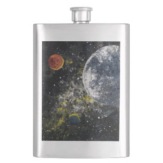 SPACE ONE (an outer space design) ~ Flask