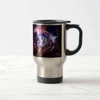Space Orb Girl Travel Mug