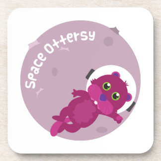 Space Ottersy Drink Coasters