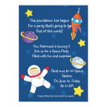 Space out birthday invitations