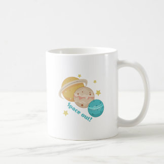 Space Out! Classic White Coffee Mug