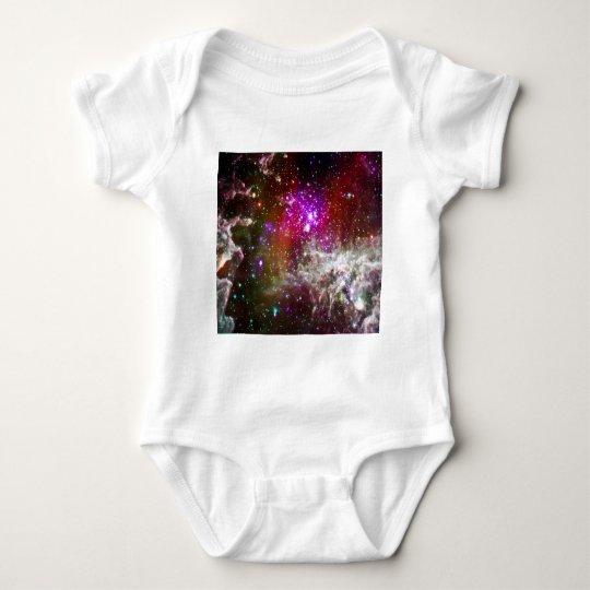 Space - Pacman Nebula Baby Bodysuit