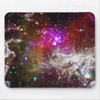 Space - Pacman Nebula Mouse Pad