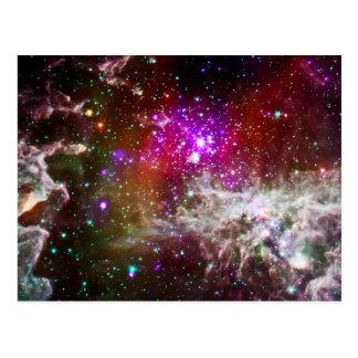 Space - Pacman Nebula Postcard