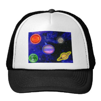 Space Painting Hat