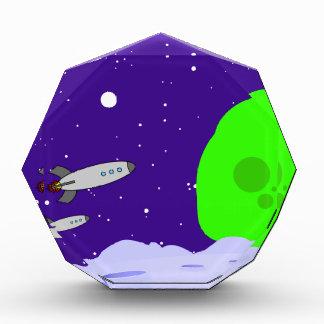 Space Patrol Acrylic Award