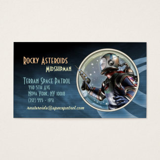 Space Patrol Business Cards