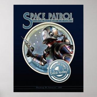 "Space Patrol poster (16x20"")"