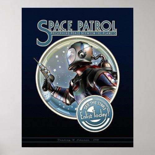 Space Patrol poster (16x20