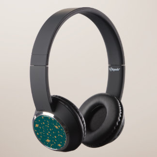 Space pattern headphones