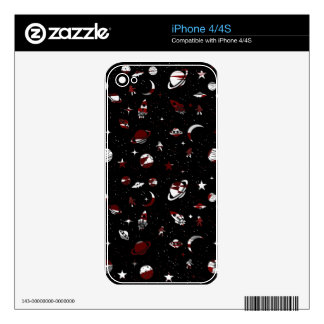 Space pattern iPhone 4 skins