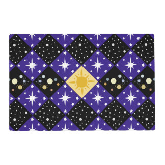 Space Pattern Placemat