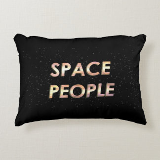 Space People - The Pillow! Decorative Pillow