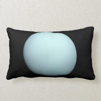 Space Photo of the Planet Uranus Lumbar Pillow