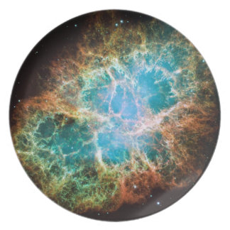 Space Photography Melamine Plate