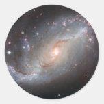 Space Pic Classic Round Sticker