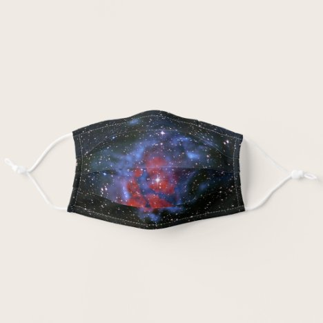"Space picture - Stellar Nursery ""RCW120"" Adult Cloth Face Mask"