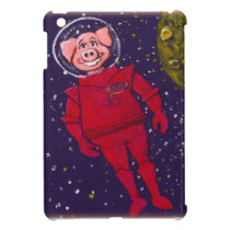 Space Pig Cover For The iPad Mini
