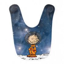 SPACE | Pig Pen Astronaut Baby Bib