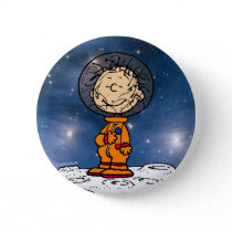 SPACE | Pig Pen Astronaut Button