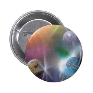 Space Pinback Button