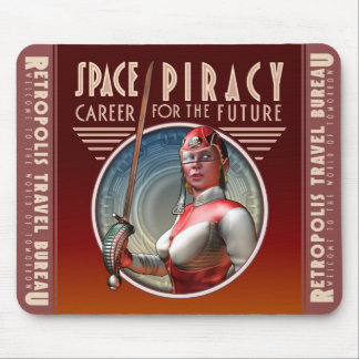 Space Piracy Mouse Pad