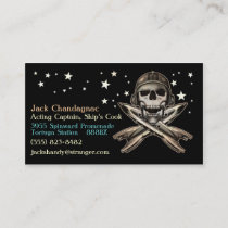 Space Pirate 2 Business Card