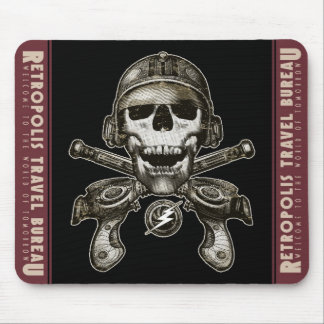 Space Pirate (Rayguns) Mouse Pad
