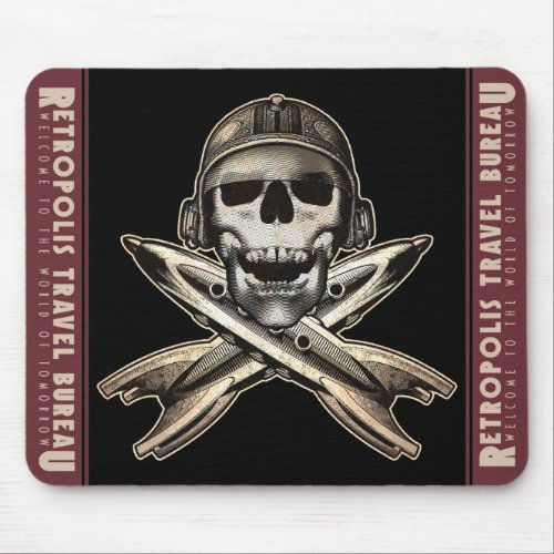 Space Pirate (Rockets) Mouse Pad