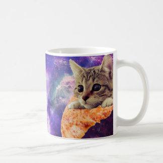 Space Pizza Cat coffee mug