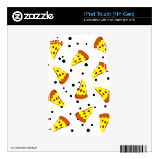 Space PIZZA Decal For iPod Touch 4G