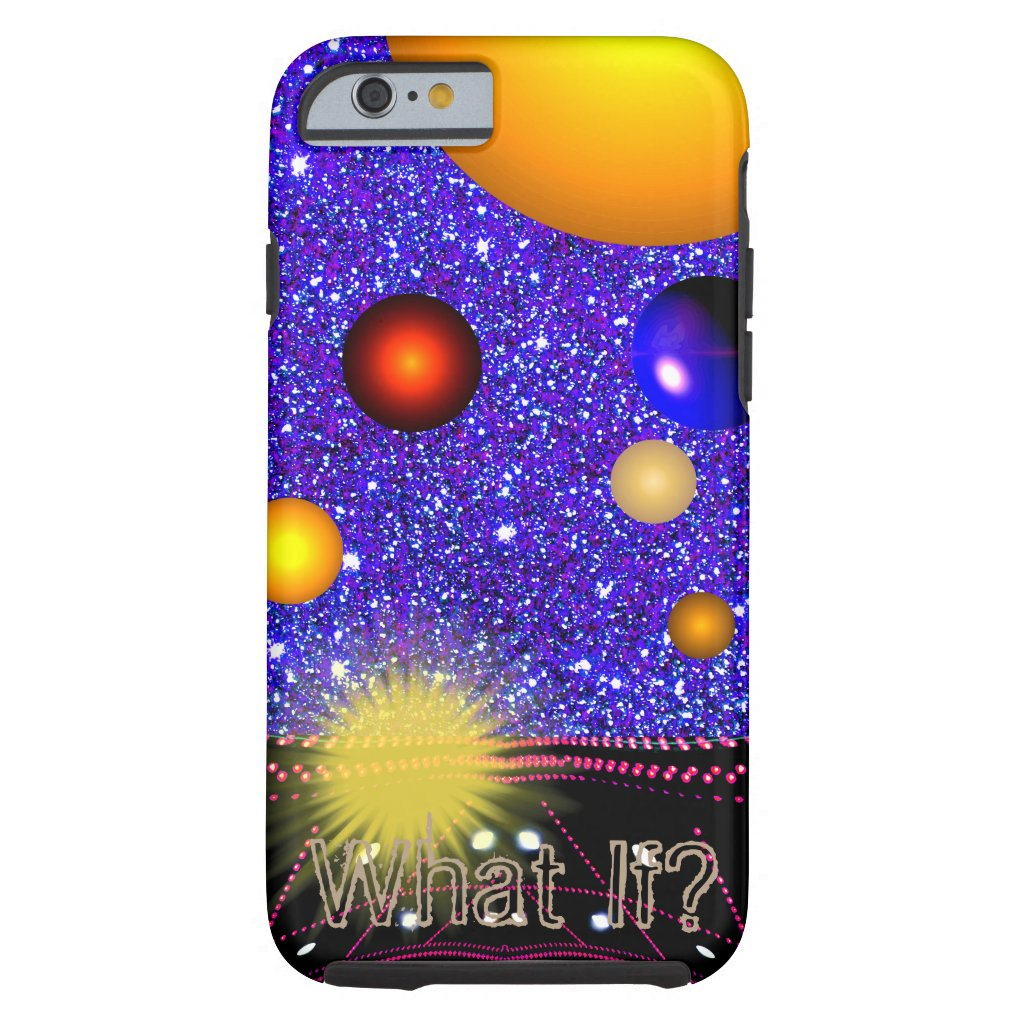 Space Planets Universe Science STEM Geeky Tough iPhone 6 Case