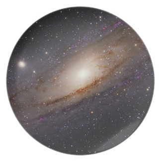 Space Plate 2 - andromeda galaxy