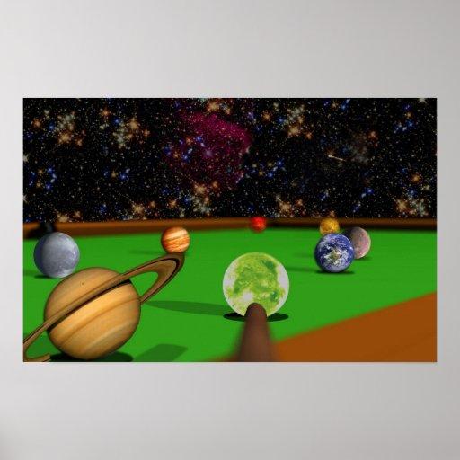 Space Pool 2 Print